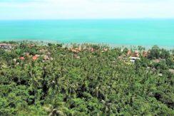 Terrain vue mer Ban Tai Koh Samui
