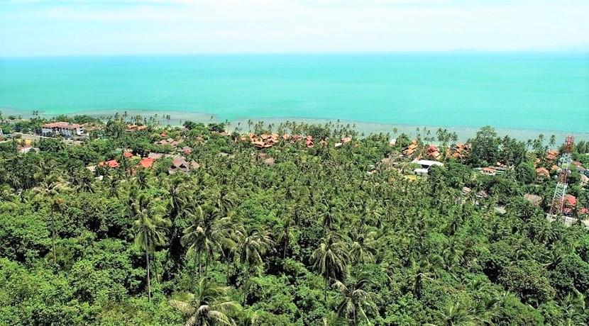 Terrain vue mer Ban Tai Koh Samui 10 rai – 20 rai à vendre