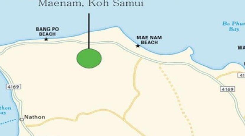 Terrain vue mer Ban Tai Koh Samui à vendre 05