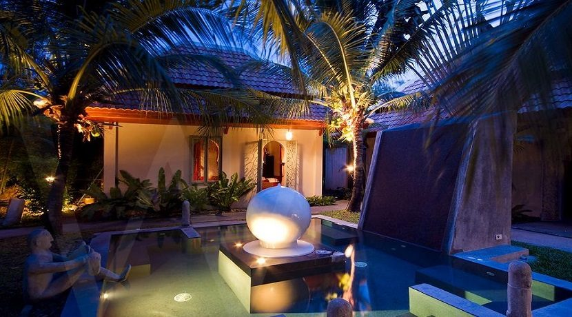 Villa à louer Bang Kao Koh Samui 021