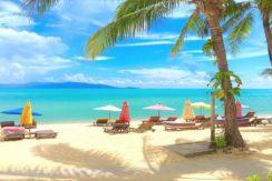 A louer Resort en bord de mer Maenam Koh Samui