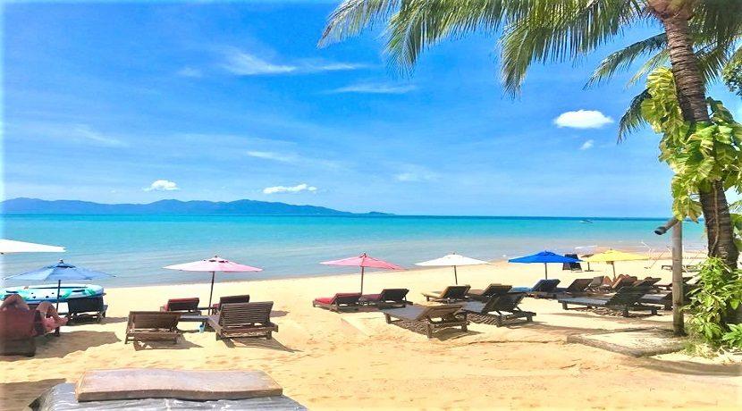 A louer Resort en bord de mer Maenam Koh Samui 038