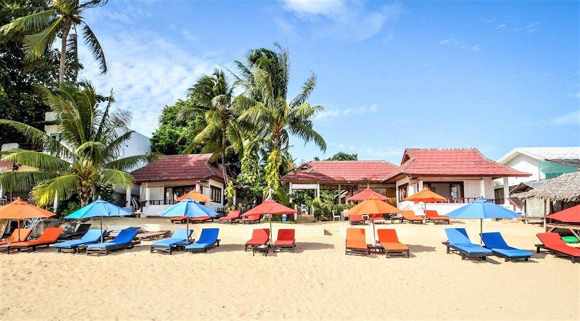 A louer Resort en bord de mer Maenam Koh Samui 04