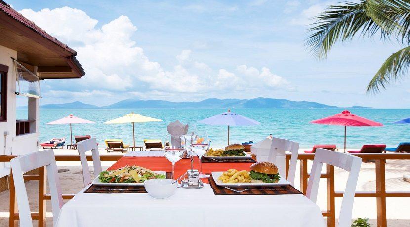 A louer Resort en bord de mer Maenam Koh Samui 08