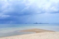 Terrain bord de mer à Bang Kao Koh Samui