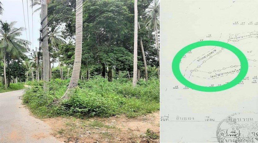 A vendre terrain au centre de Chaweng à Koh Samui 05
