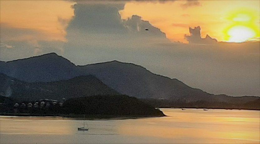 A vendre terrain vue mer Bangrak à Koh Samui 017
