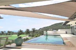 A vendre villa vue mer Chaweng Noi à Koh Samui