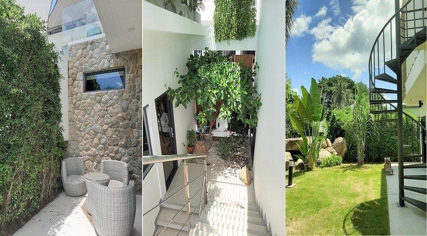 A vendre villa vue mer Chaweng Noi à Koh Samui 029