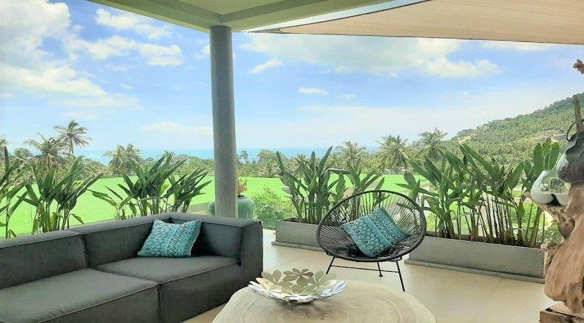 A vendre villa vue mer Chaweng Noi à Koh Samui 031