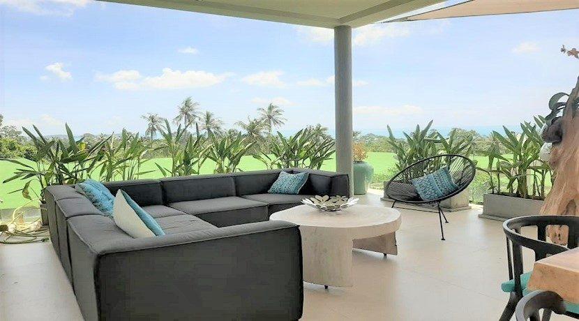 A vendre villa vue mer Chaweng Noi à Koh Samui 032