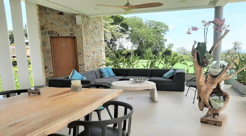 A vendre villa vue mer Chaweng Noi à Koh Samui 033