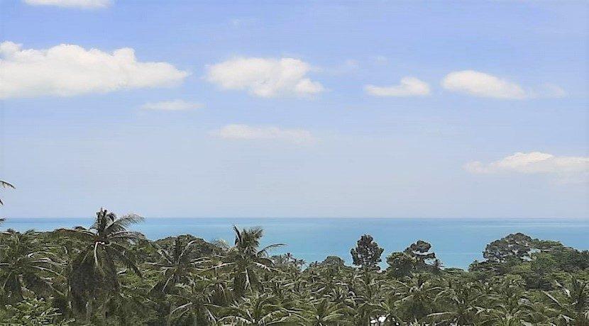 A vendre villa vue mer Chaweng Noi à Koh Samui 034