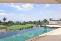 A vendre villa vue mer Chaweng Noi à Koh Samui 038