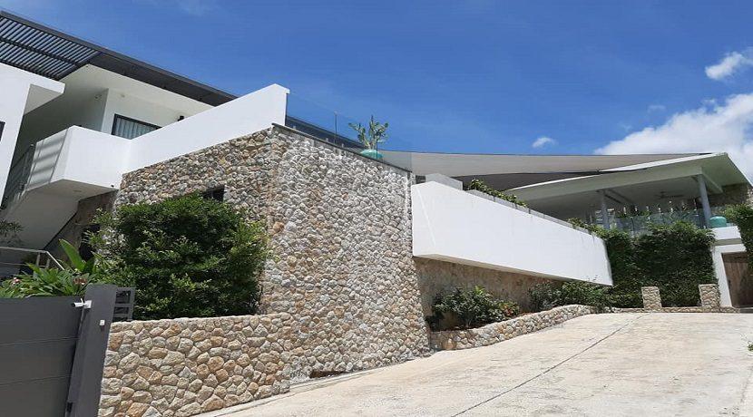 A vendre villa vue mer Chaweng Noi à Koh Samui 044