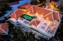 A vendre villa vue mer Taling Ngam à Koh Samui