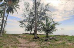 Terrain à vendre bord de mer Lipa Noi à Koh Samui