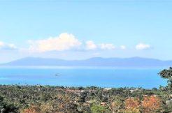 Terrain vue mer à vendre Bophut Koh Samui