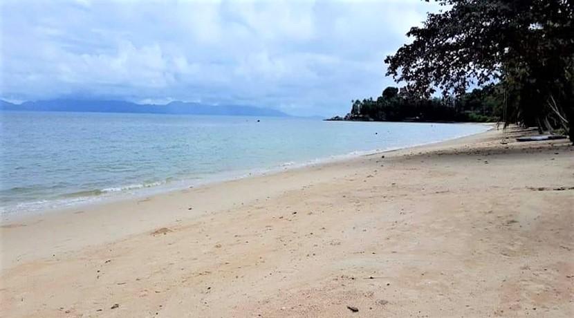A vendre terrain bord de mer Bang Por à Koh Samui – 480 m² – 580 m²