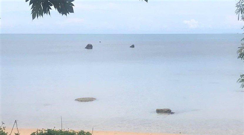 A vendre terrain bord de mer Bang Por à Koh Samui 014