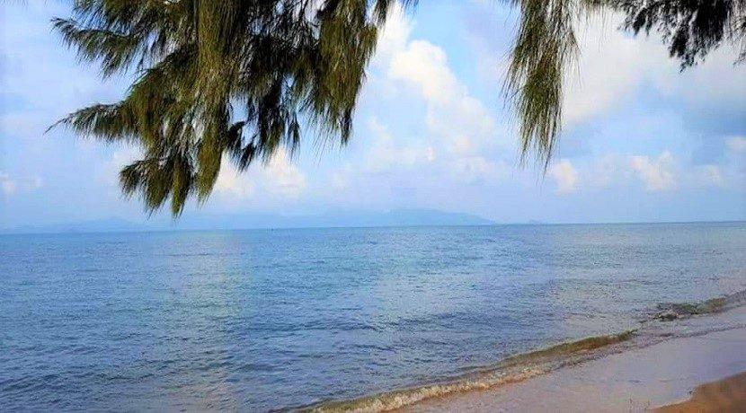 A vendre terrain bord de mer Bang Por à Koh Samui 05