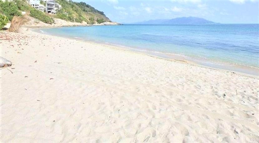 A vendre terrain bord de mer Plai Laem à Koh Samui – 1016 m² – chanote