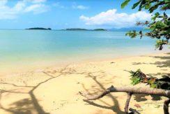 A vendre terrain bord de mer à Plai Laem Koh Samui