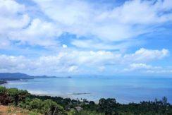 A vendre terrain vue mer Bang Makham à Koh Samui