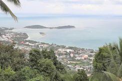 A vendre terrain vue mer Chaweng Hill Koh Samui 010