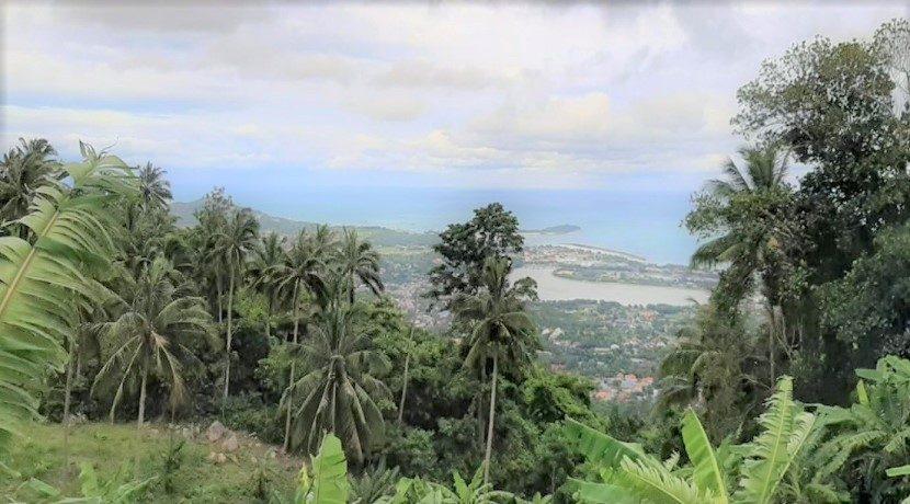 A vendre terrain vue mer Chaweng Hill Koh Samui 013