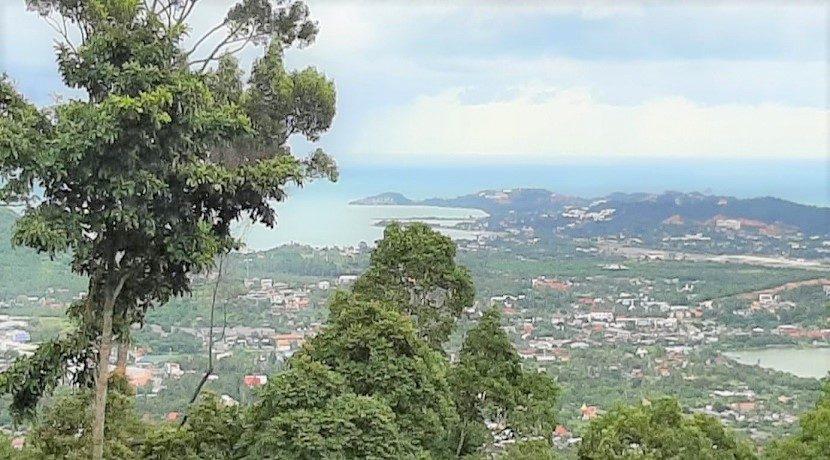 A vendre terrain vue mer Chaweng Hill Koh Samui 02