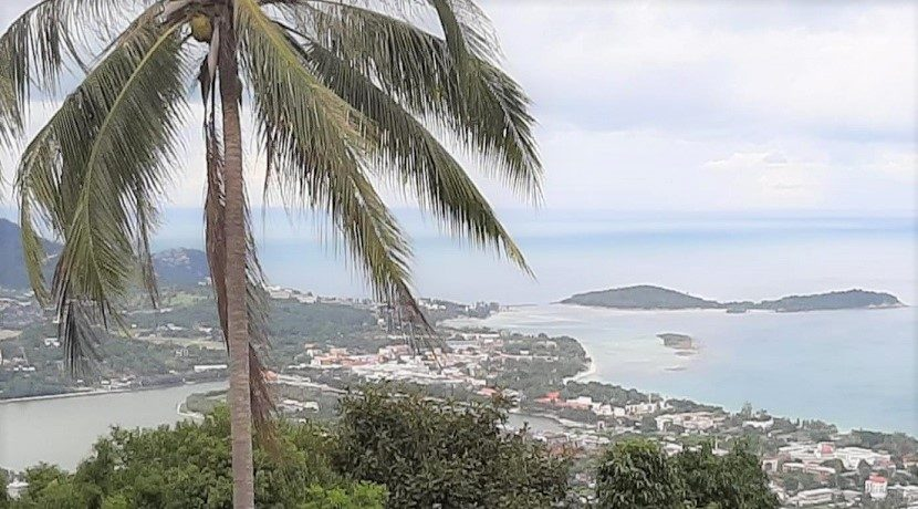 A vendre terrain vue mer Chaweng Hill Koh Samui 03