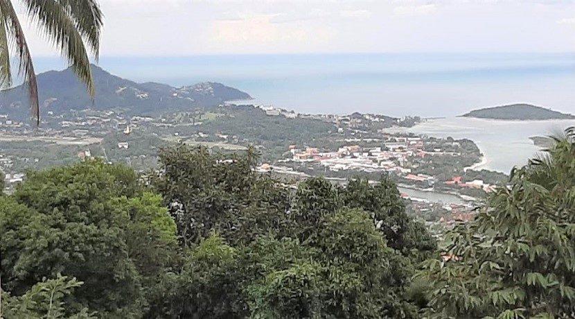 A vendre terrain vue mer Chaweng Hill Koh Samui 06