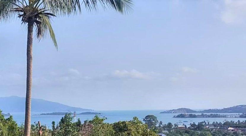 A vendre terrain vue mer à Bangrak Koh Samui 01A