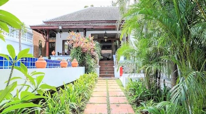 A vendre villa 4 chambres Bophut à Koh Samui – piscine privée – Chanote