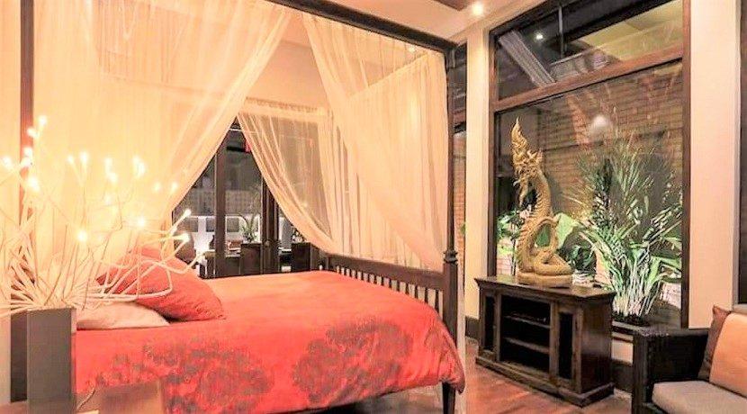A vendre villa 4 chambres Bophut à Koh Samui 012
