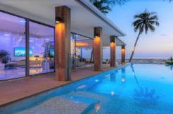 A vendre villa bord de mer Bang Kao / Laem Set à Koh Samui