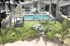 A vendre villa bord de mer Bang Por à Koh Samui