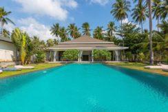 A vendre villa bord de mer à Bang Kao Koh Samui