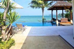 A vendre villa bord de mer à Bophut Koh Samui