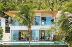 A vendre villa vue mer Bang Por à Koh Samui