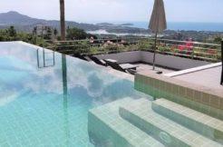 A vendre villa vue mer Chaweng à Koh Samui