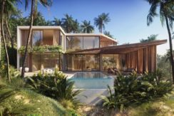 A vendre villa vue mer à Chaweng Koh Samui