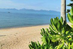 Terrain bord de mer à vendre Bang Por à Koh Samui 01
