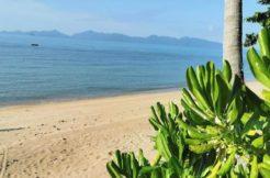 Terrain bord de mer à vendre Bang Por à Koh Samui