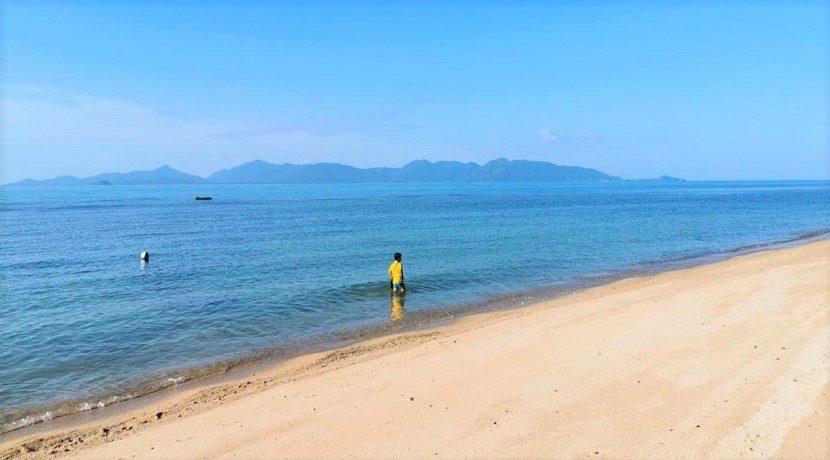 Terrain bord de mer à vendre Bang Por à Koh Samui 02