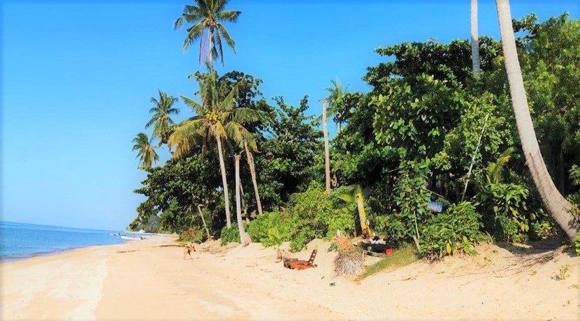Terrain bord de mer à vendre Bang Por à Koh Samui 04