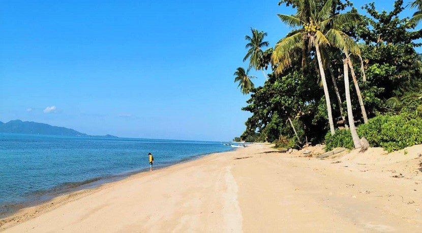 Terrain bord de mer à vendre Bang Por à Koh Samui 08
