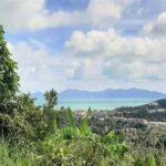 Terrain vue mer à vendre à Bophut Koh Samui