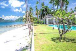 Villa en bord de mer à vendre à Laem Sor Koh Samu